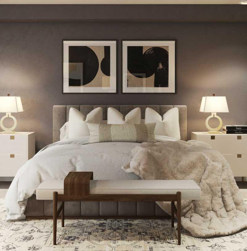 Modern, Classic, Transitional Bedroom Design by Havenly Interior Designer Namita