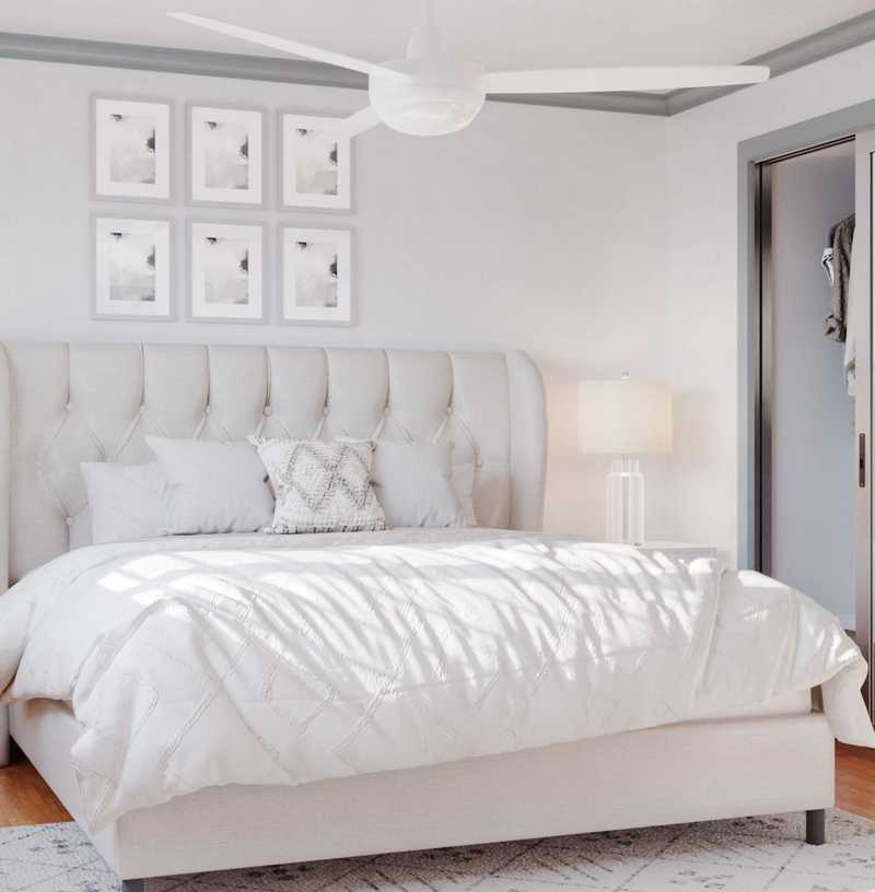 Contemporary, Modern Bedroom Design by Havenly Interior Designer Xiaoxiao