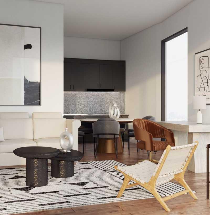 Modern Living Room Design by Havenly Interior Designer Hadasa