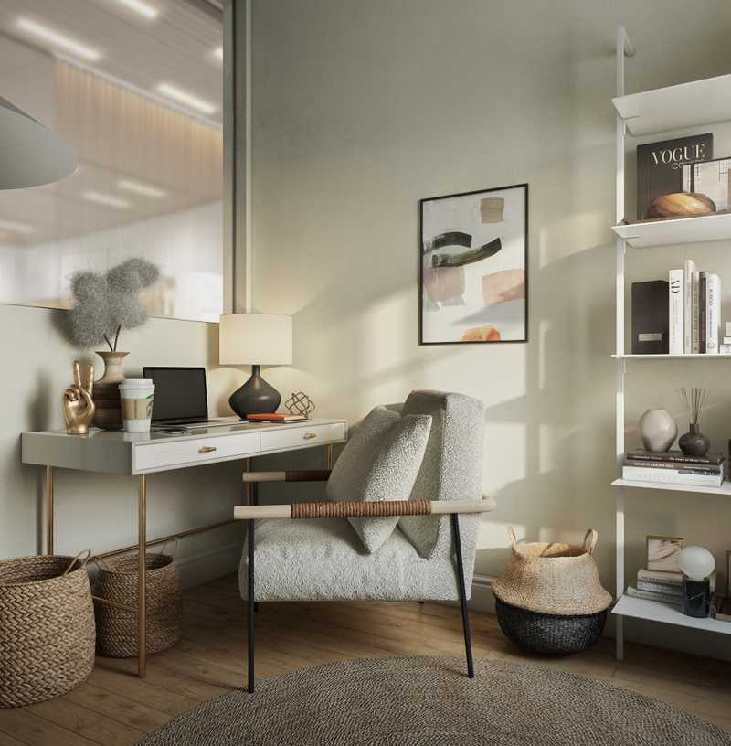 Office Design by Havenly Interior Designer Sarah