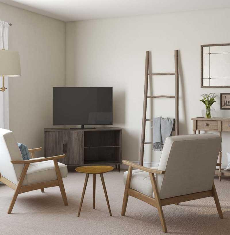 Eclectic, Farmhouse Bedroom Design by Havenly Interior Designer Karen