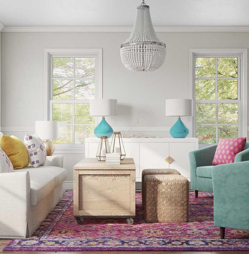 Classic, Coastal, Glam, Preppy Other Design by Havenly Interior Designer Hanna