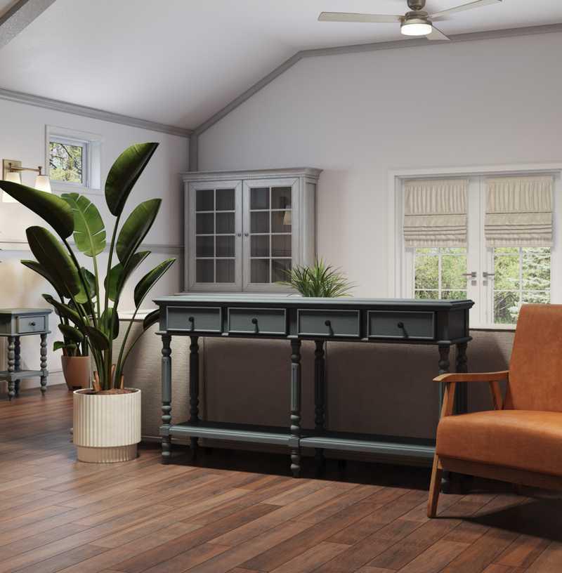 Coastal Living Room Design by Havenly Interior Designer Hadasa