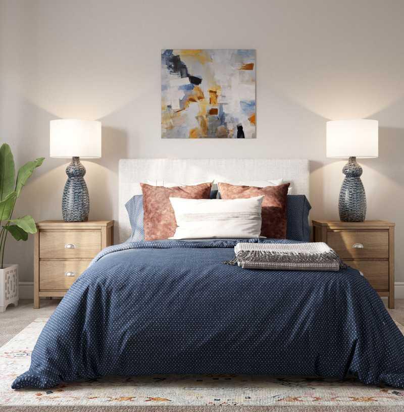 Farmhouse, Rustic Bedroom Design by Havenly Interior Designer Austin
