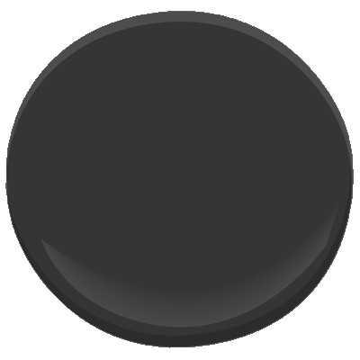 Benjamin Moore Universal Black Paint - Benjamin Moore