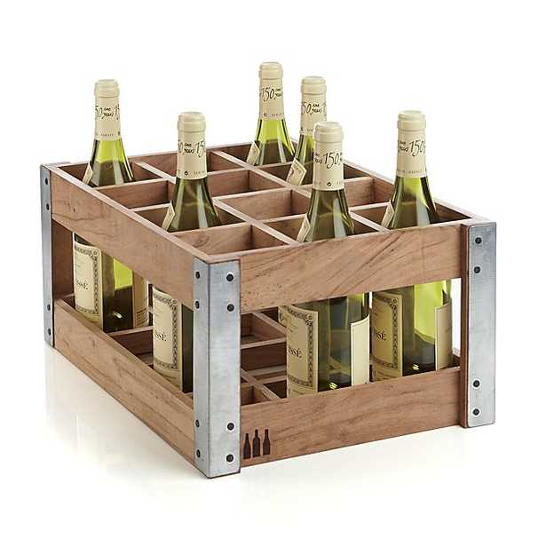 Case Wine Rack - Crate and Barrel