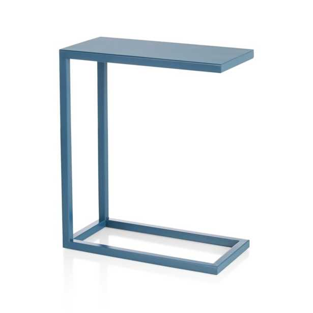 Avenue Teal C Table - Crate and Barrel