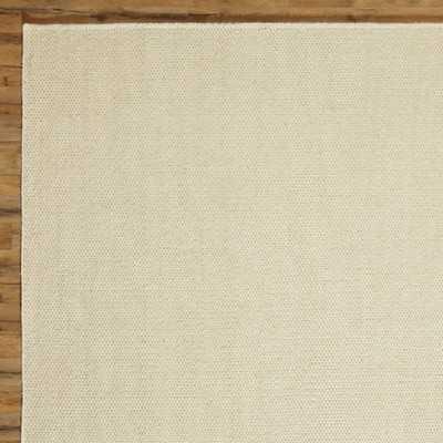 Ava Parchment Solid Rug - 8x10 - Wayfair