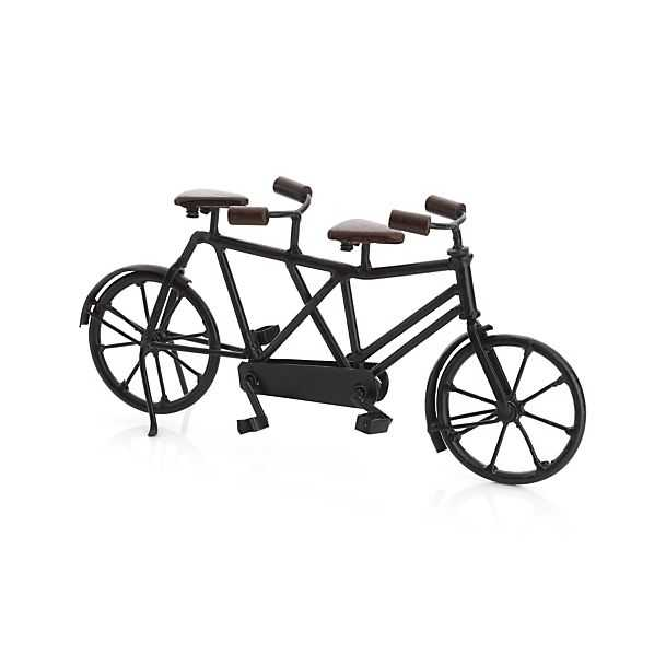 Miniature Tandem Bicycle - Crate and Barrel