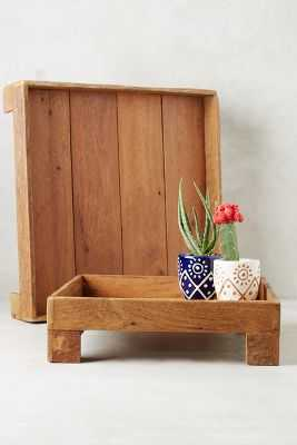 Reclaimed Wood Tray - Anthropologie
