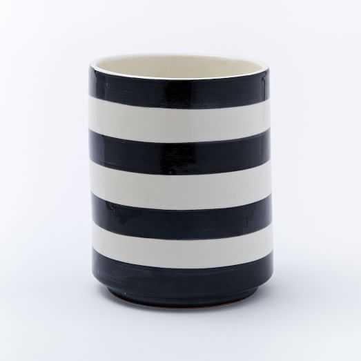 """Striped Cache Pots - 6"""" - West Elm"""