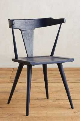 Mackinder Dining Chair - White - Anthropologie
