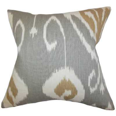 Cleon Ikat Throw Pillow - Wayfair