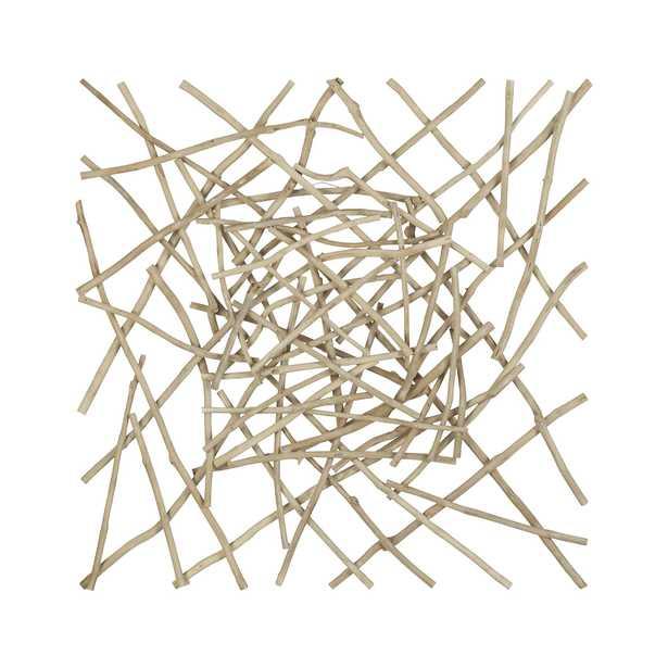 Sticks Wood Wall Art - Crate and Barrel