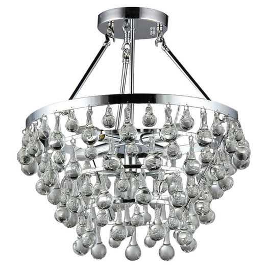 Grand 5 Light Crystal Chandelier - AllModern