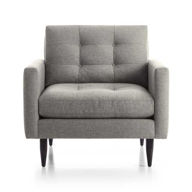 Petrie Chair - Felt Gray - Crate and Barrel
