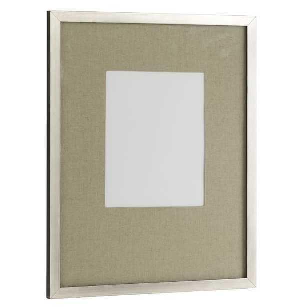Gallery Frames - Antique Silver - West Elm
