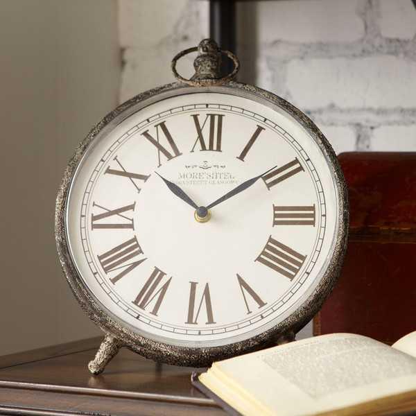 Arcada Table Clock - Birch Lane