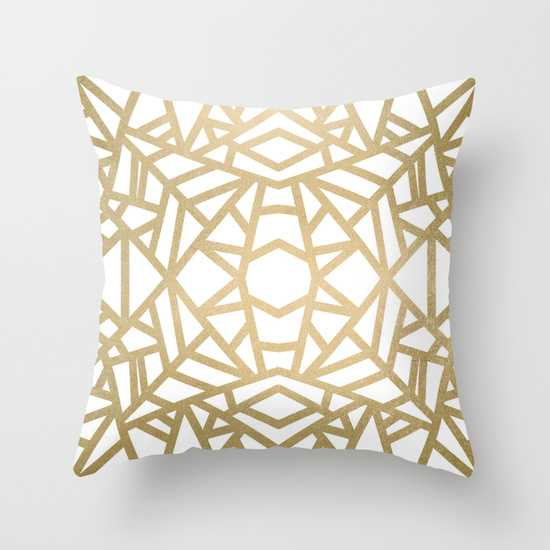 """THROW PILLOW/ INDOOR COVER (20"""" X 20"""") WITH PILLOW INSERT - Society6"""