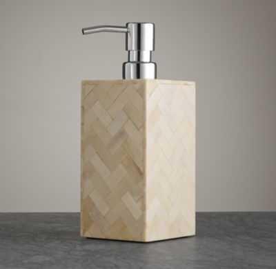 BONE ACCESSORIES COLLECTION - Soap Dispenser - RH