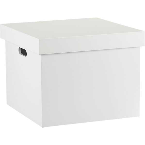 White file box - CB2