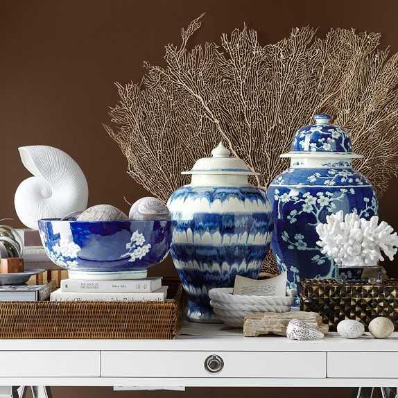 Ceramic Drip Ginger Jar - Williams Sonoma Home