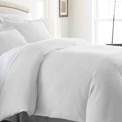 Becky Cameron 3 Piece Duvet Cover Set-White-Full/Queen - Wayfair