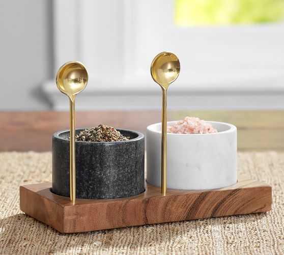 Marble Salt & Pepper ShakerMARBLE SALT & PEPPER SHAKER - Pottery Barn