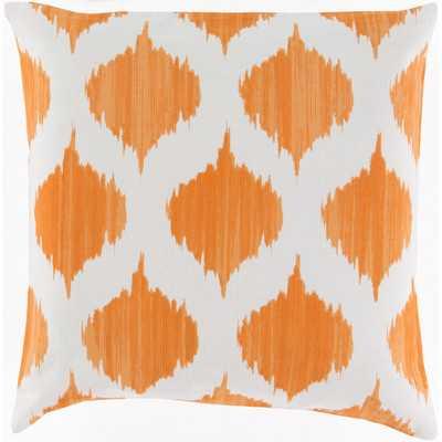 "Cotton Throw Pillow - 18"" H x 18"" W - Polyester Fill - Wayfair"