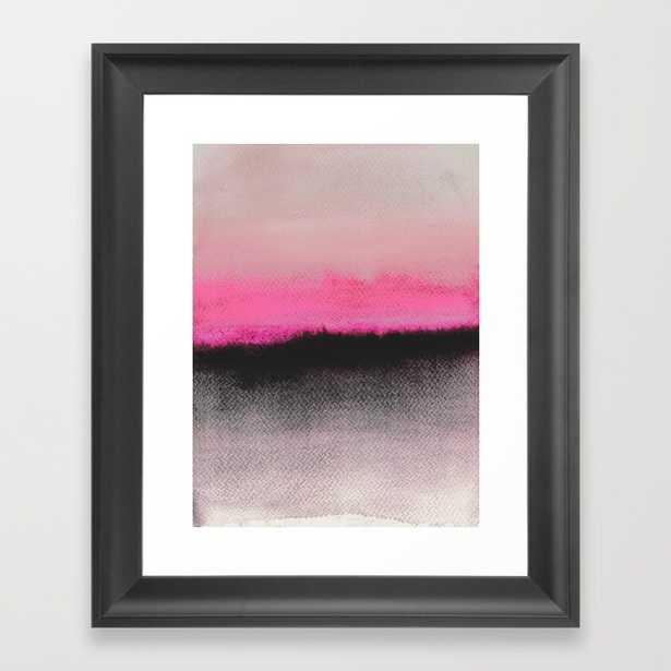 """Double Horizon - 10"""" X 12"""" - Framed - Society6"""