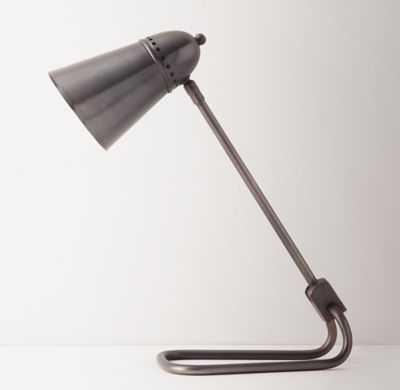 DARBY TASK LAMP GUNMETAL - RH Teen