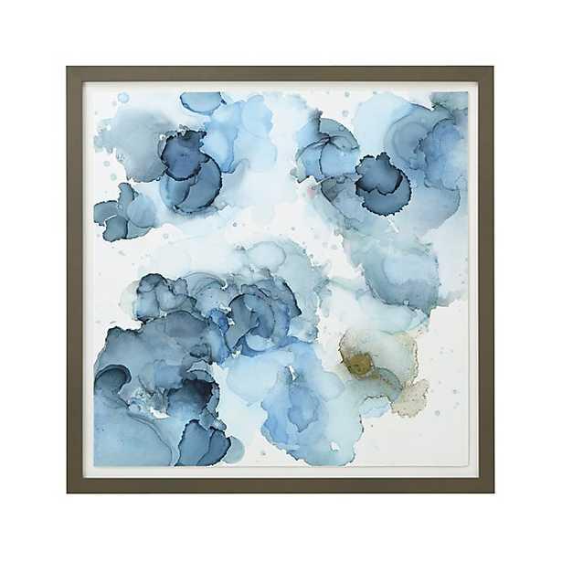 """Amphora Print - 42.75"""" sq.  - Grey Frame - Crate and Barrel"""