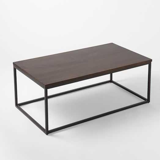 Box Frame Coffee Table - Wood - West Elm
