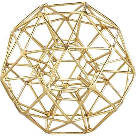 max brass sculptures - CB2