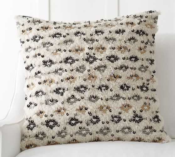 """Elodie Moroccan Pillow Cover - 24"""" square. - Insert Sold Separately - Pottery Barn"""