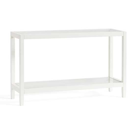 GAYLE CONSOLE TABLE, SKY WHITE - Pottery Barn