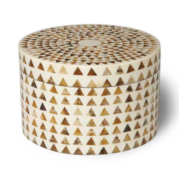 Triangle Stripe Box - Wayfair