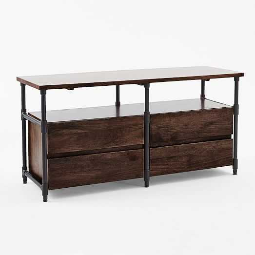 Pipe Media Console - Long - West Elm