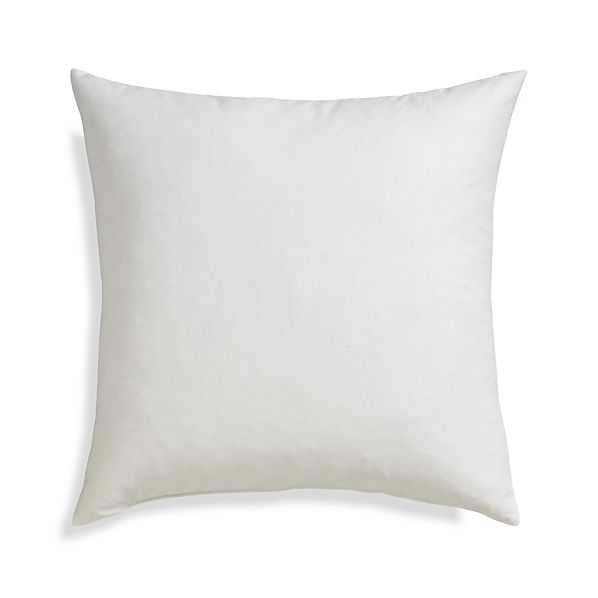 Feather-Down Pillow Insert - 18x18 - Crate and Barrel