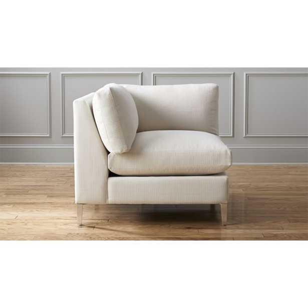 cielo II corner chair - CB2