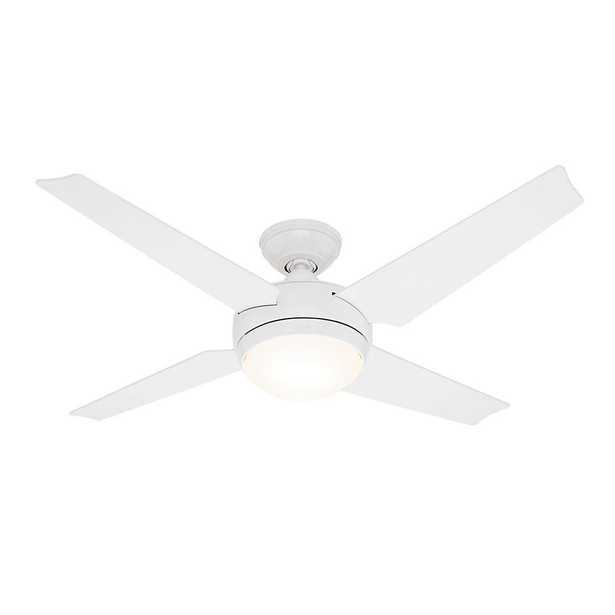 Sonic 52 in. White Ceiling Fan - Home Depot