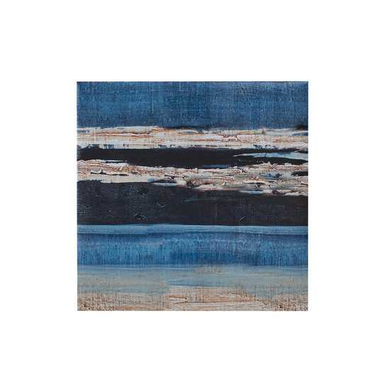 "Overseas 5 Piece Painting Print on Canvas Set - 1.5"" H x 92"" W x 36"" D - Unframed - AllModern"
