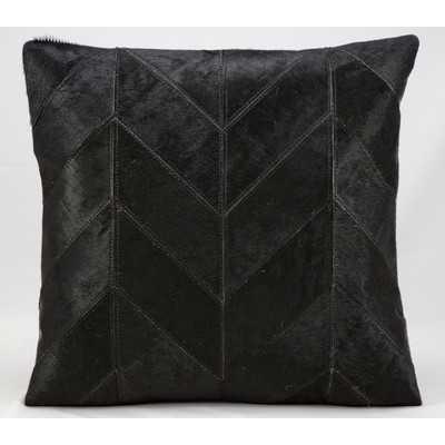 Heritage Leather Throw Pillow - Wayfair