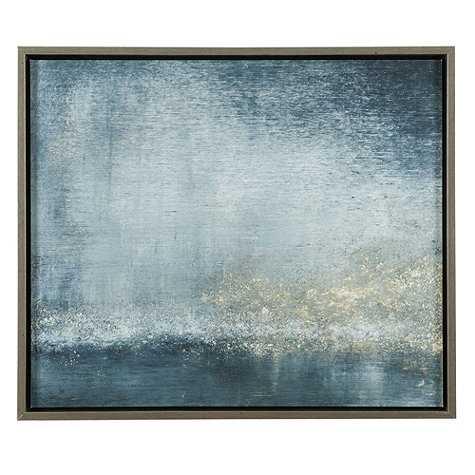 """Twilight On The Seine Abstract Art - 29""""H X 34""""W - Ballard Designs"""