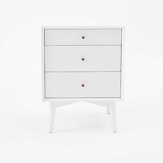 Mid-Century Side Tables - White - West Elm