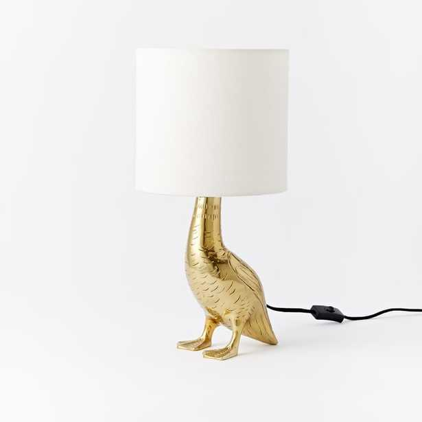 Rachel Kozlowski Mallard Duck Table Lamp - West Elm