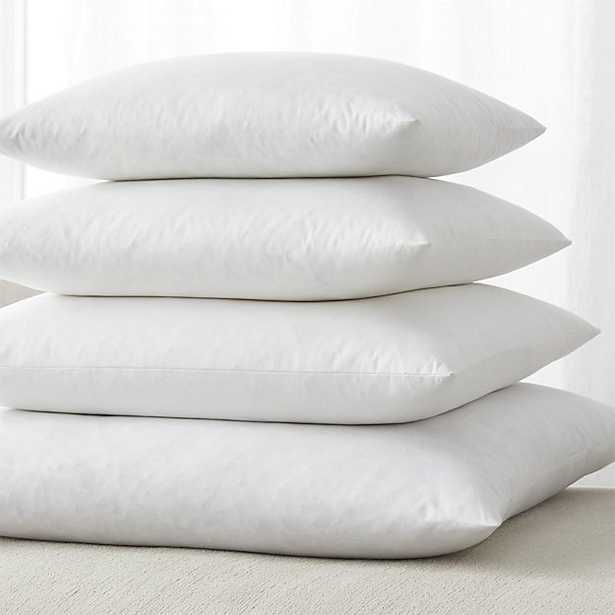 Feather-Down Square Pillow Inserts - Crate and Barrel