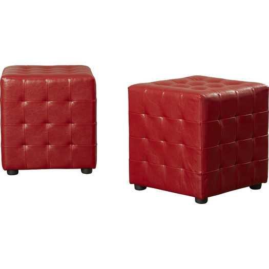Kinton Cube Ottoman -Set of 2 - AllModern