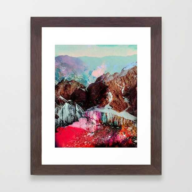 "Untitled 20110310e (Landscape) - 10"" X 12"" - Framed - Society6"