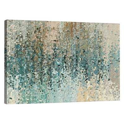 "Hunts Point Graphic Art on Canvas - 20"" H x 30"" W - Unframed - Wayfair"